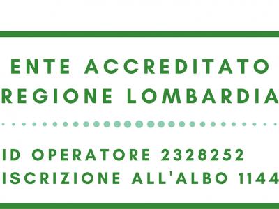 Ente accreditato regione Lombardia